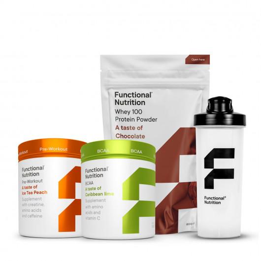 whey proteinpulver pakke